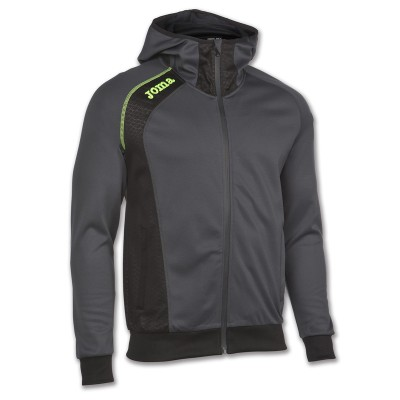 Joma SWEATSHIRT HOODED ELITE V 100398.170 ANTHRACITE