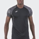 Joma T-SHIRT OLIMPIA 100736.100 BLACK