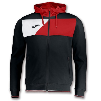 Joma JACKET CREW II 100615.106 BLACK-RED