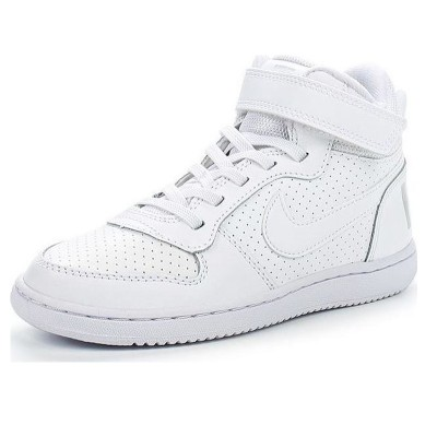Nike COURT BOROUGH MID PSV 870026-100
